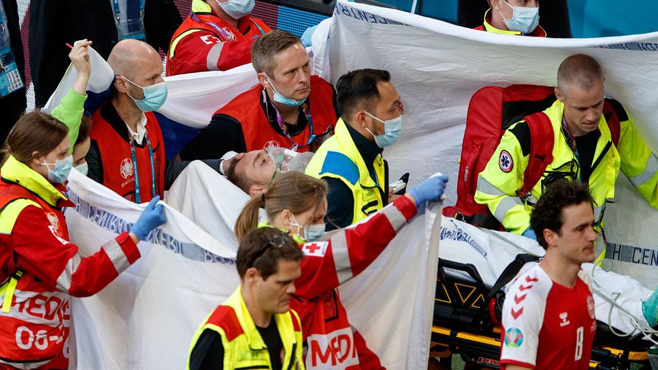 Стала известна причина, по которой датский футболист потерял сознание во время матча