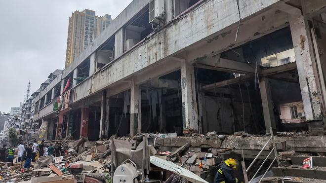 При взрыве газа в Китае 11 человек погибли и еще 37 находятся в критическом состоянии