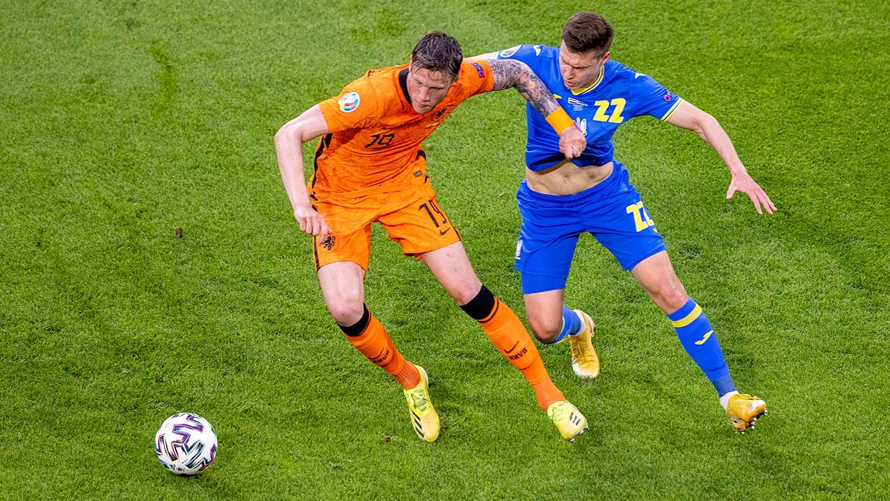 Украина проиграла Нидерландам в матче Евро-2020