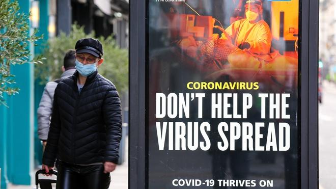 В Англии продлили ограничения, связанные с коронавирусом