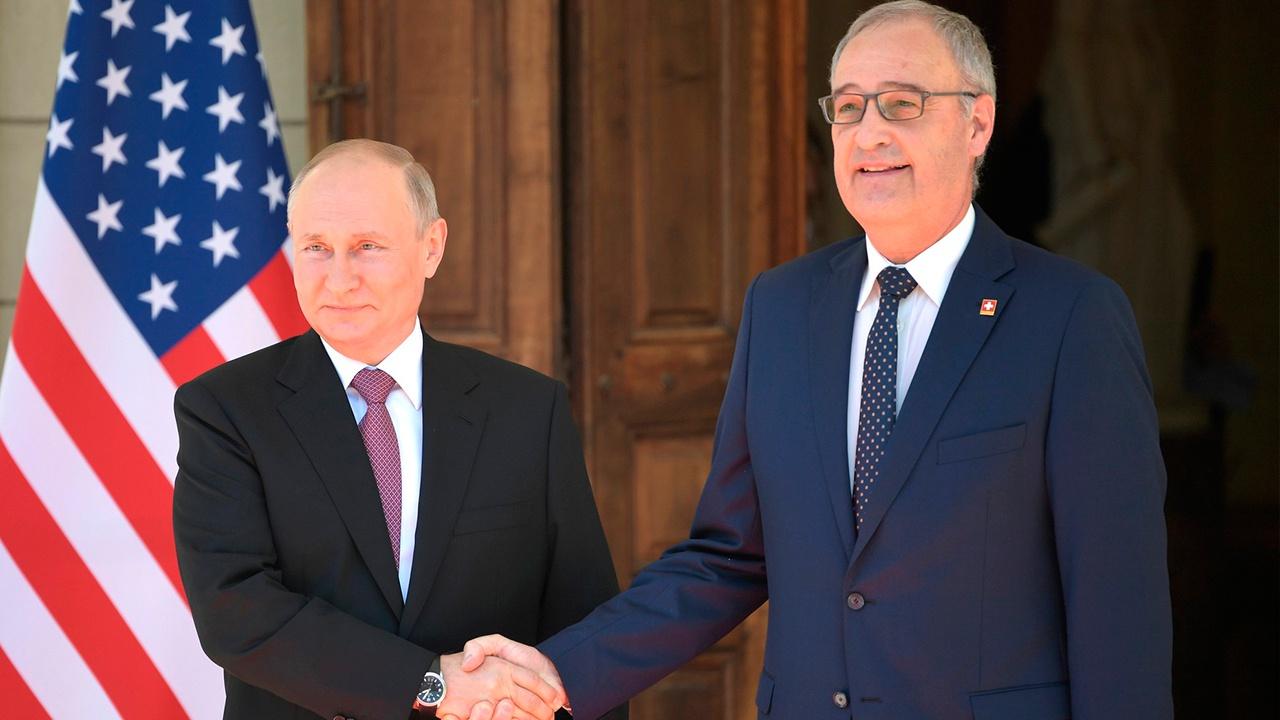 «Женева всегда гостеприимна»: Путин встретился с президентом Швейцарии