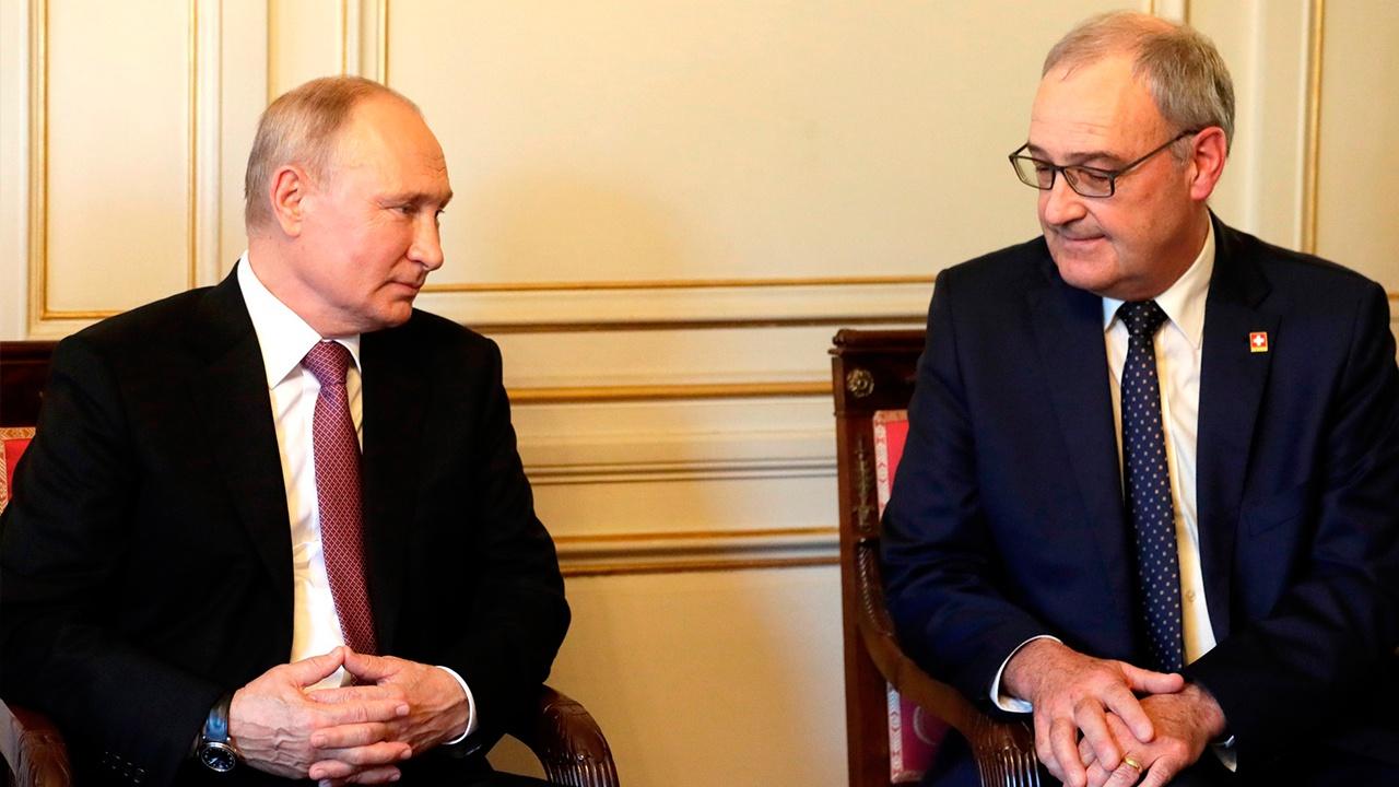 Президент Швейцарии оценил отношения между РФ и США
