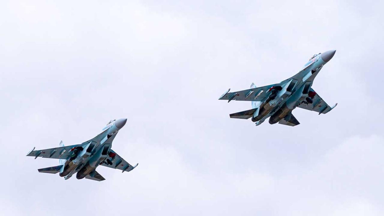 МО РФ: полет пары Су-35 15 июня над Балтикой не нарушал границ других государств