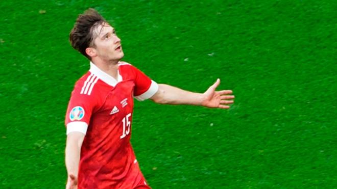 Миранчук признан лучшим игроком матча Россия - Финляндия