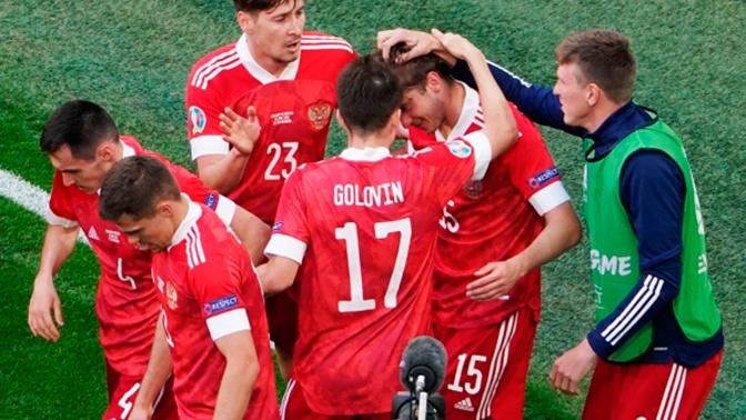 Сборная России победила команду Финляндии на своем втором матче Евро-2020