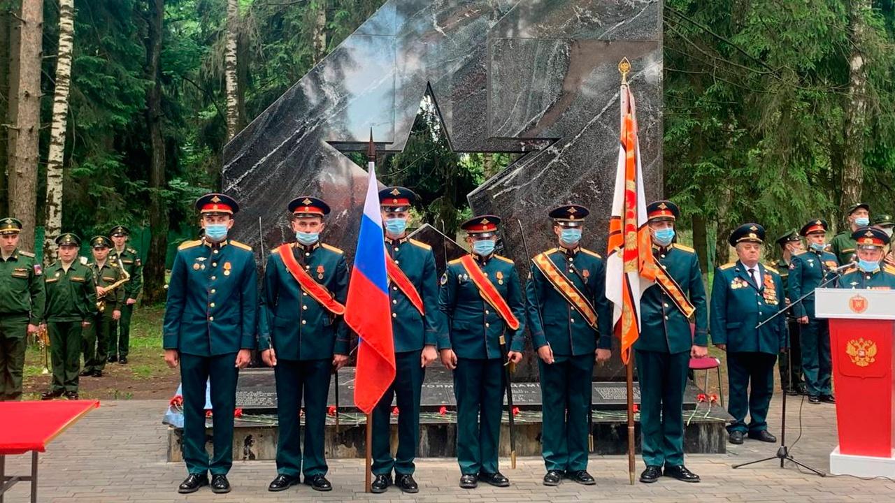 Более 100 новобранцев Шавлинского мотострелкового полка принесли присягу в Подмосковье
