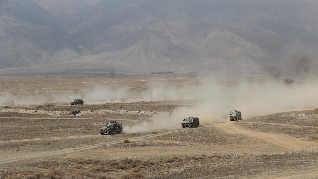 В Киргизии пройдут масштабные военные учения ОДКБ «Рубеж-2021»
