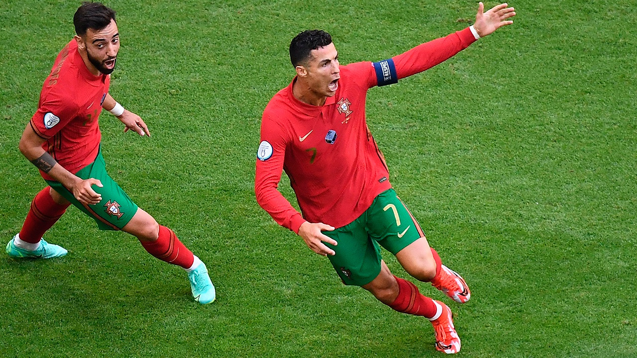Роналду установил новый рекорд чемпионатов Европы