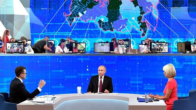 В Кремле ответили на вопрос о деталях предстоящей «Прямой линии» Путина