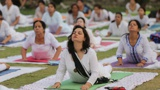 В Индии йогу сочли щитом против коронавируса
