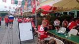 В ожидании противостояния: футбольные болельщики в Копенгагене готовятся в матчу Россия - Дания