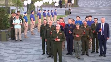 Акция «Свеча памяти» прошла в Главном храме Вооруженных сил России
