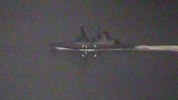 Инцидент с эсминцем Defender в Черном море сняли с беспилотника