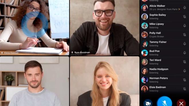 В Telegram появилась функция групповых видеозвонков