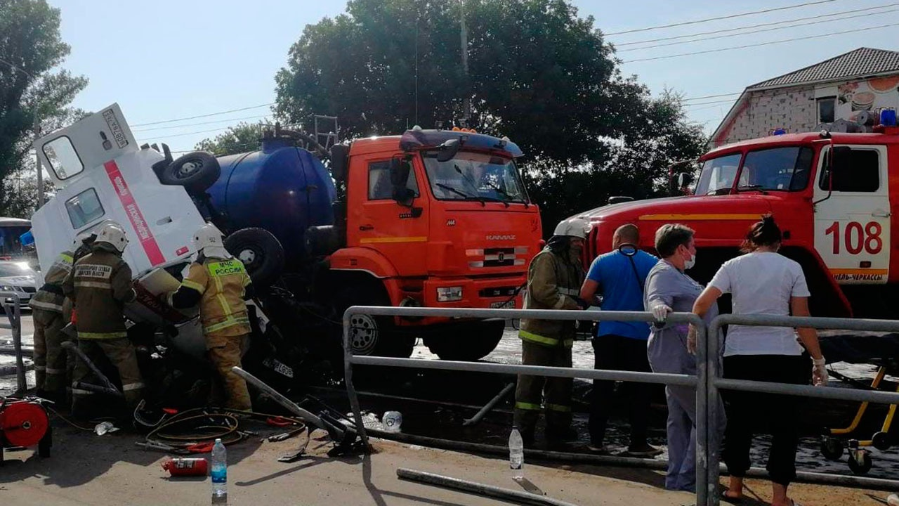 В МВД раскрыли подробности ДТП со скорой в Самарской области