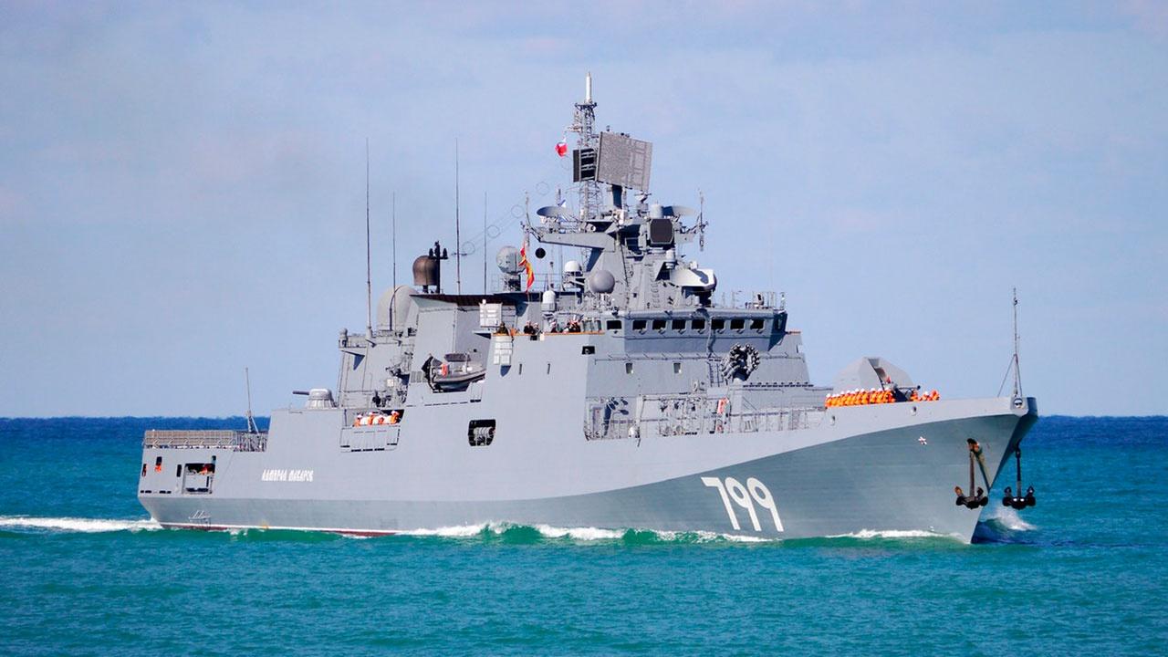 Корабли ВМФ России отразили воздушную «атаку» на учениях в Средиземном море