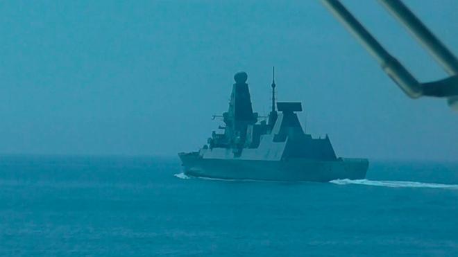 В Кремле назвали провокацией действия британского эсминца Defender в Черном море