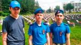 Юнармейцы Санкт-Петербурга взяли шефство над заброшенными могилами фронтовиков