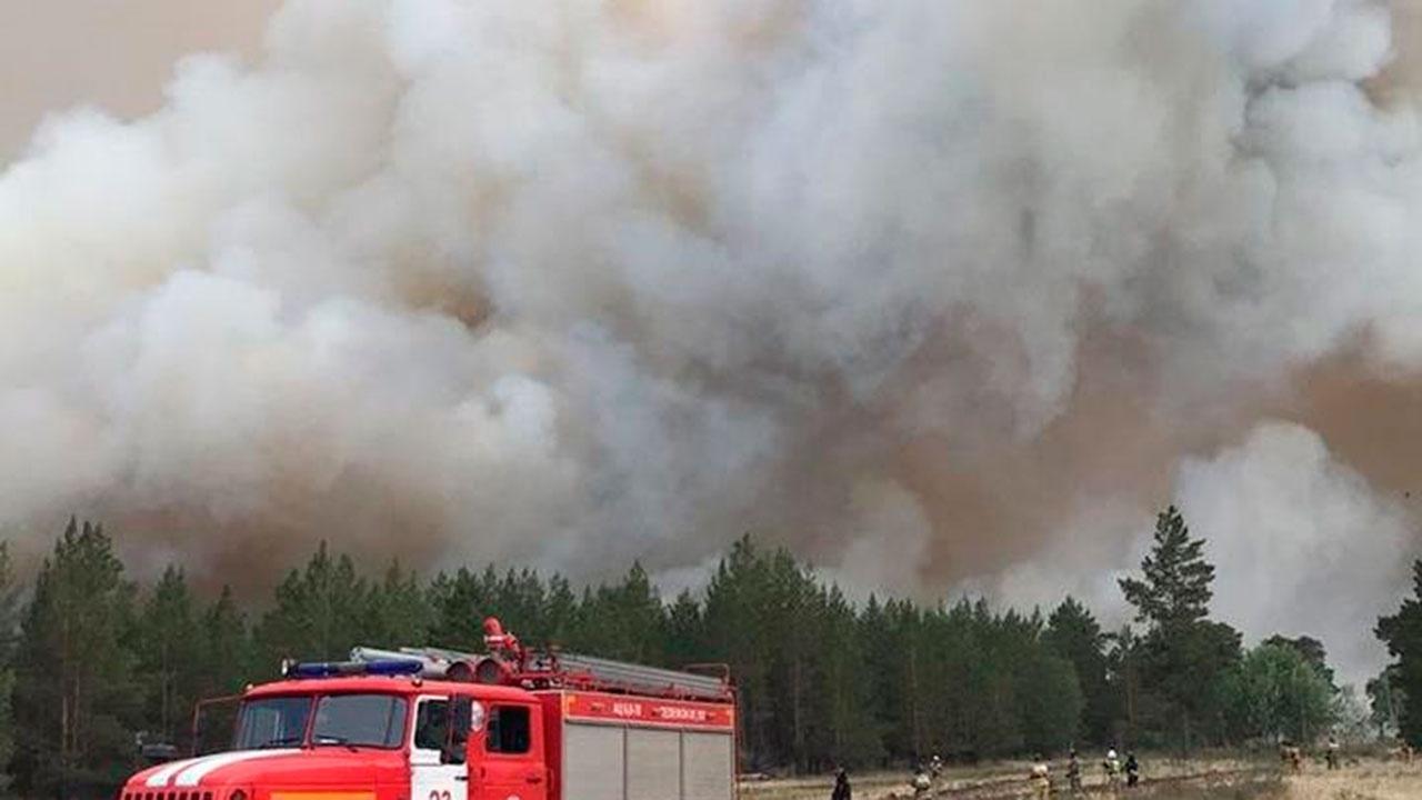 Площадь пожаров в Челябинской области выросла до 14 тысяч гектаров