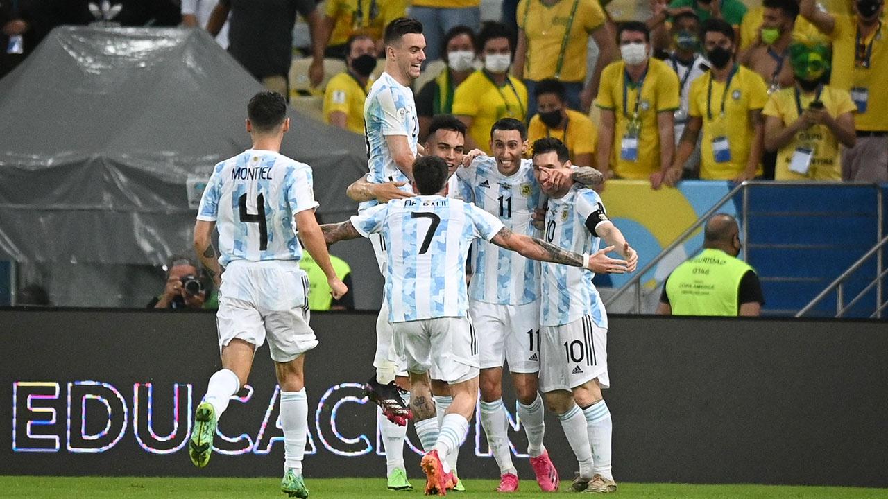 Сборная Аргентины одолела команду Бразилии и завоевала Кубок Америки