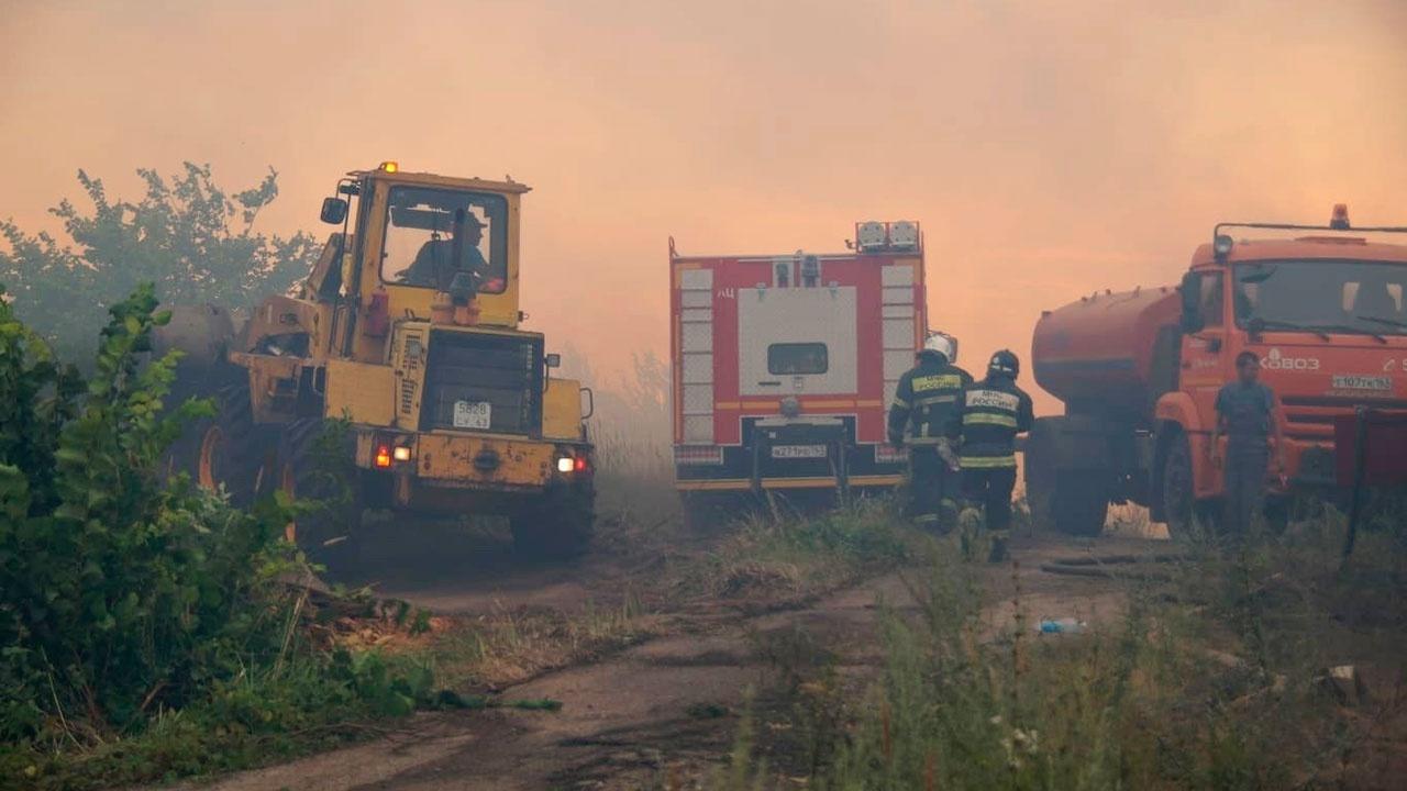 В Тольятти возбудили уголовное дело после мощного лесного пожара
