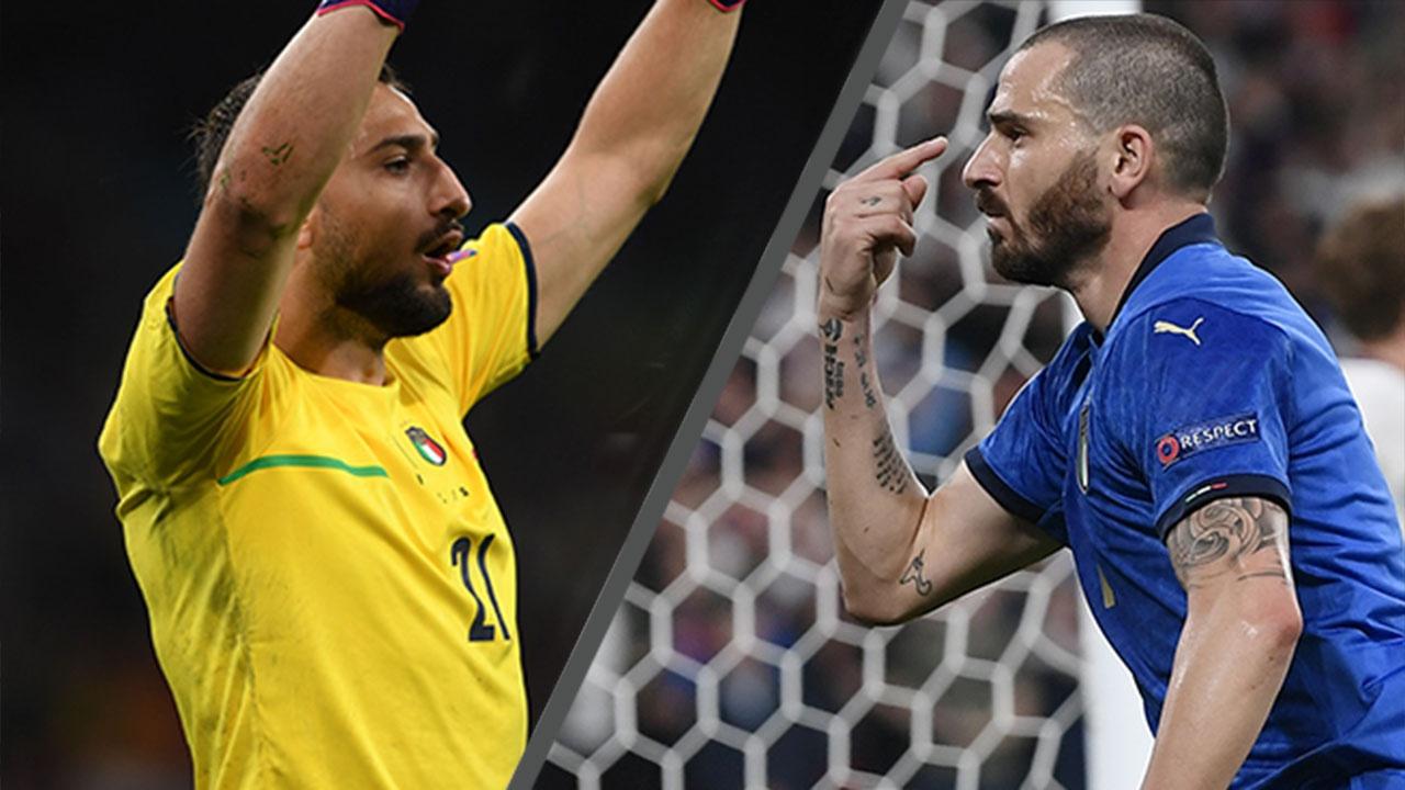 Лучшие из лучших: Доннарумма и Бонуччи стали самыми ценными игроками турнира и финала Евро