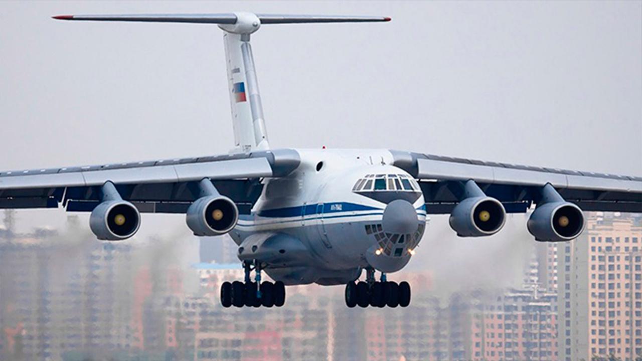 В ВС РФ поставлен новый военно-транспортный самолет Ил-76МД