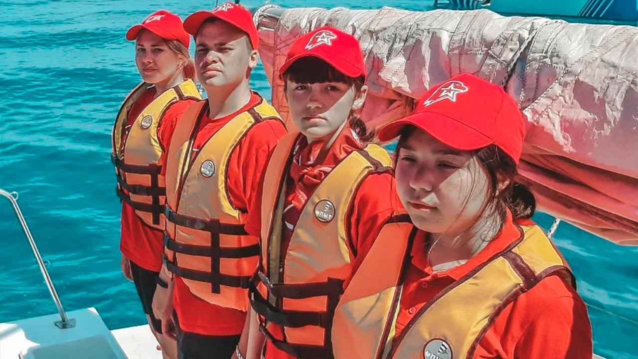 Пятьсот миль по Черному морю: юнармейцы Крыма отправились в путешествие на яхтах