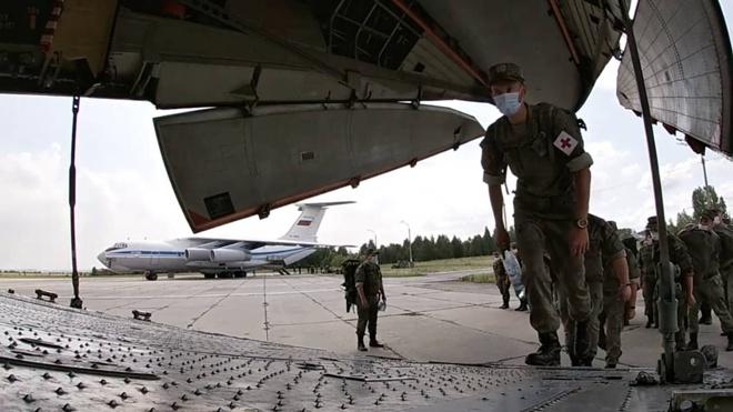 Военные медики ЦВО приступили к развертыванию приемного отделения в Хакасии
