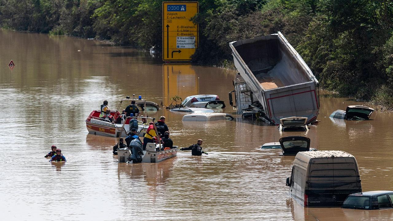 СМИ предрекли Германии наводнение «исторического масштаба»