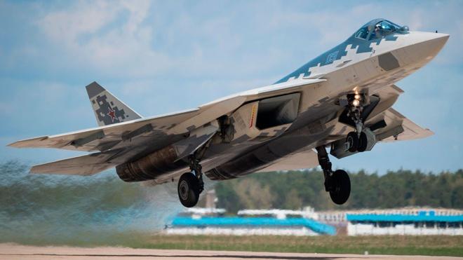 Новейшие комплексы связи для Су-57 представят на МАКС-2021