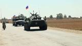 Военнослужащие РФ провели патрулирование трассы М-4 в Сирии