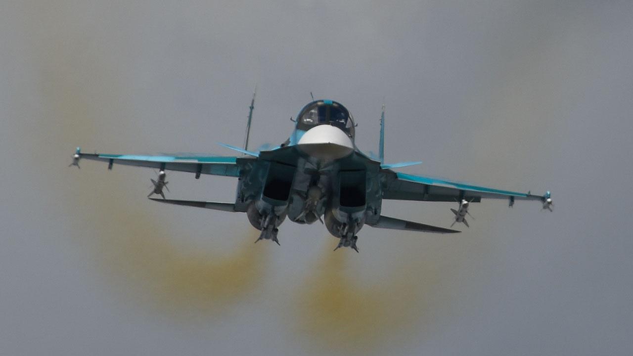 Поставки Су-34 за рубеж могут начаться в 2023 году
