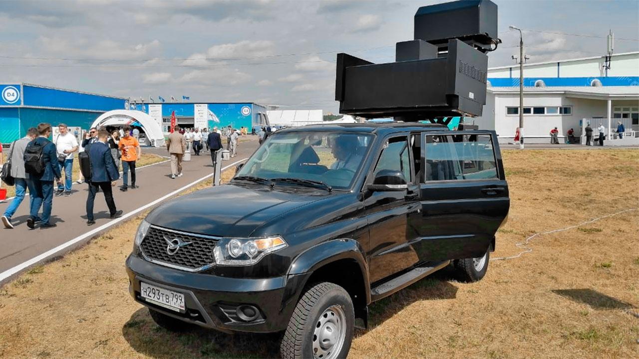 Россия представила на МАКС-2021 новую систему борьбы с дронами