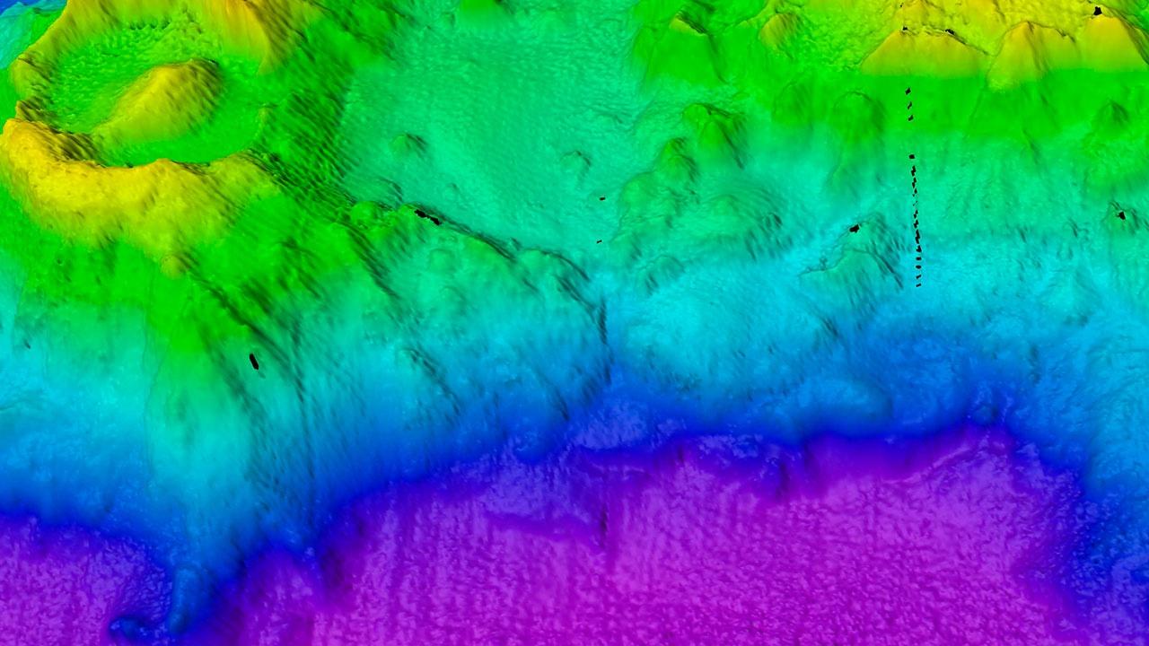 Древний подводный вулкан в Индийском океане назвали Оком Саурона