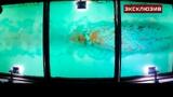 «Ледовая рубашка»: кадры работы ледокола из-под днища