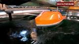 «Волна-убийца»: в Крыловском центре «подкинули» ледокол «Лидер» на 10 метров