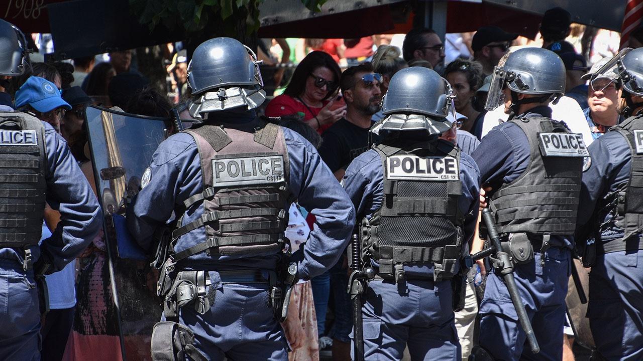Девять человек задержаны на акциях против санпропусков в Париже