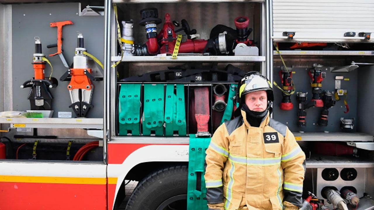 В Котельниках произошел пожар на автовокзале