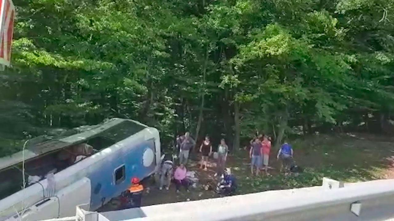 Число погибших в ДТП с автобусом на Кубани увеличилось до двух