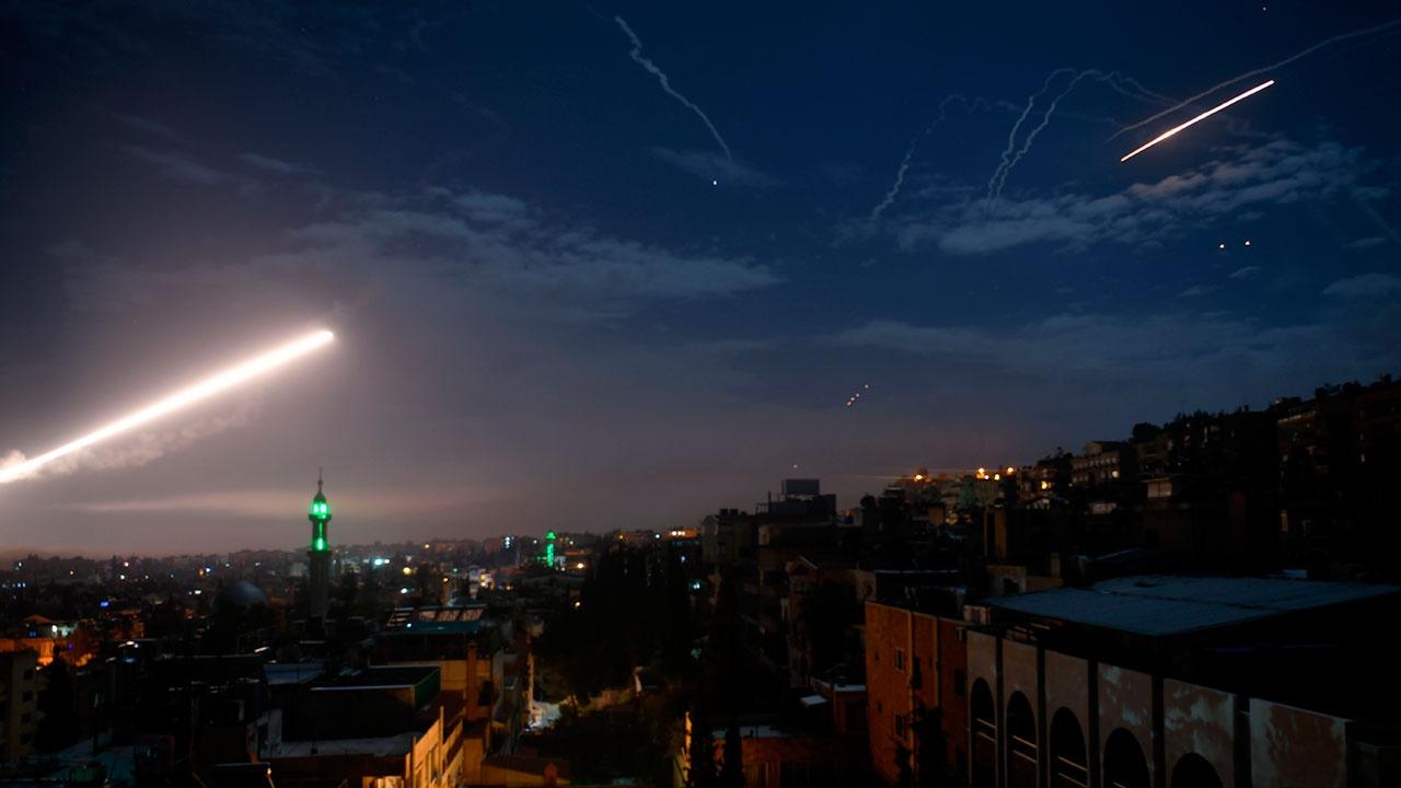 ПВО Сирии отразили ракетную атаку Израиля в провинции Дамаск