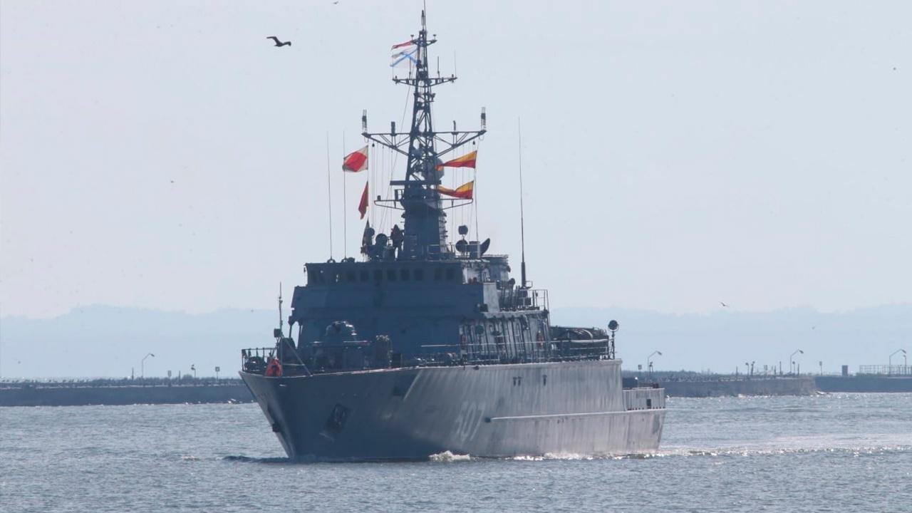 Корабли Балтфлота взяли курс на Балтийск после участия в Главном военно-морском параде