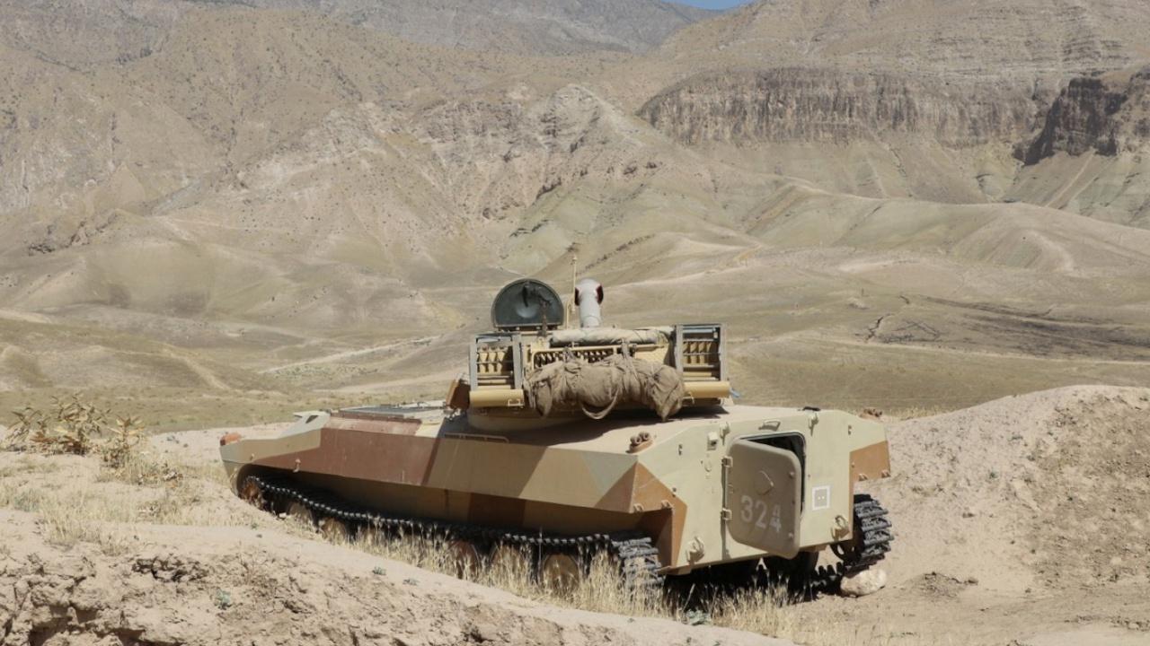 Более 1 500 военных России, Узбекистана и Таджикистана проведут учения у афганской границы