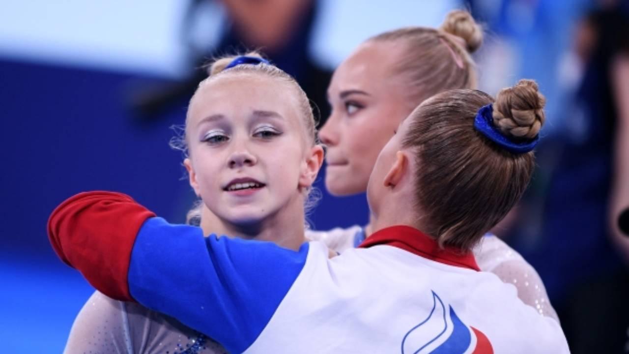 Женская сборная России по спортивной гимнастике впервые завоевала олимпийское золото в командном многоборье