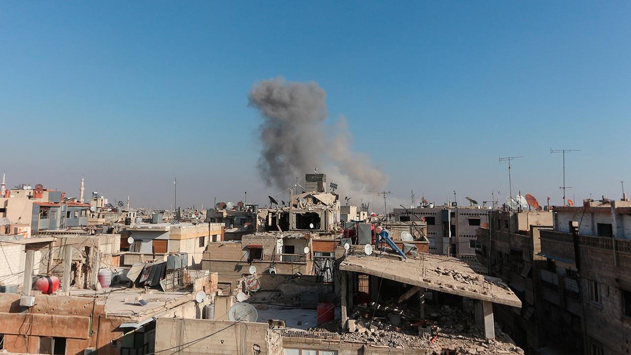 Террористы выпустили противотанковую ракету по грузовику сирийской армии на севере Алеппо