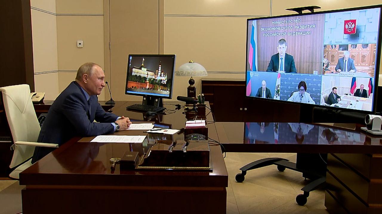 Путин заявил, что шаги по борьбе с инфляцией должны быть выверены и сбалансированы