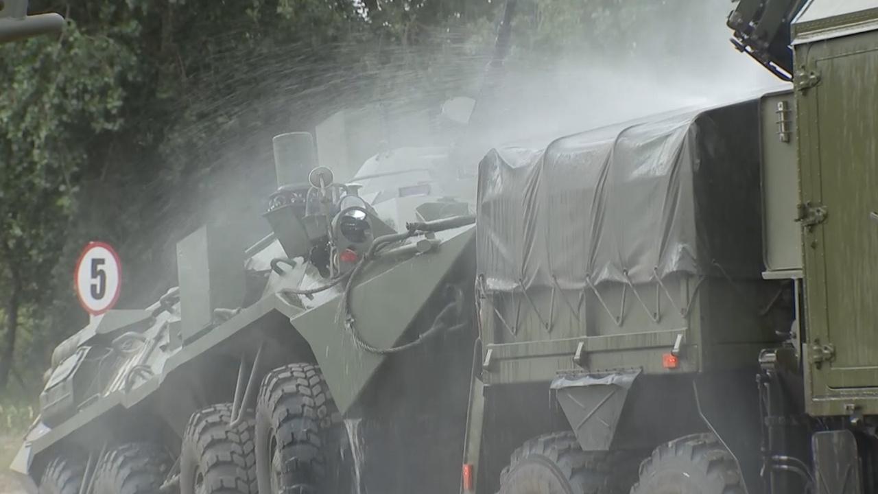 Щит от радиации: подразделения РХБЗ ликвидировали «аварию» на АЭС под Курском