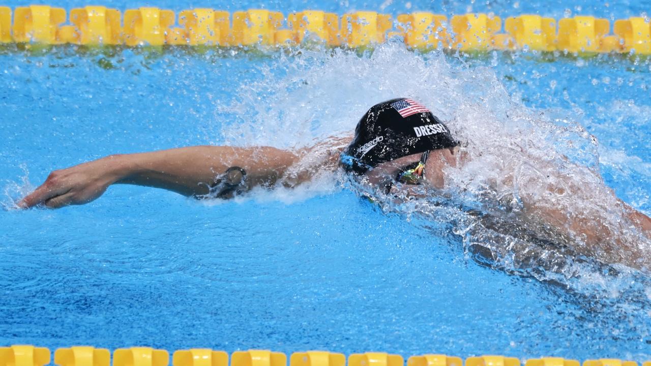 США впервые с 1908 года не получили медалей в эстафете по плаванию