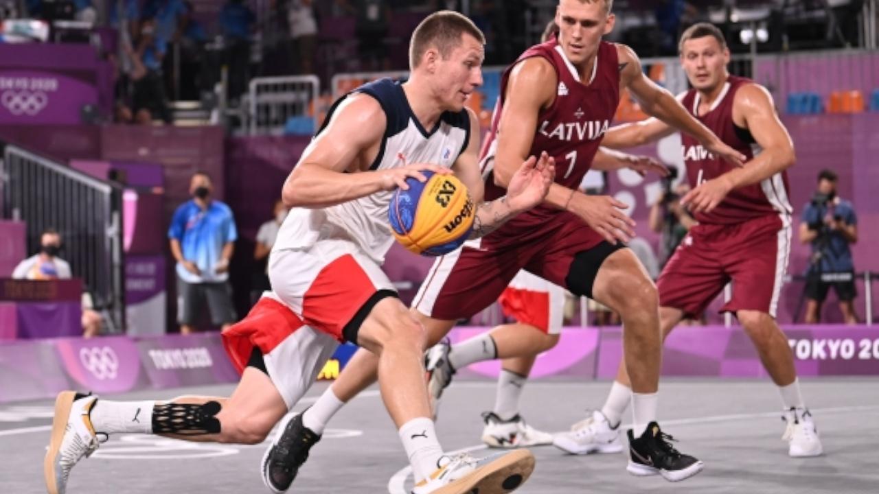 Мужская сборная России по баскетболу 3х3 завоевала серебряные медали Олимпиады