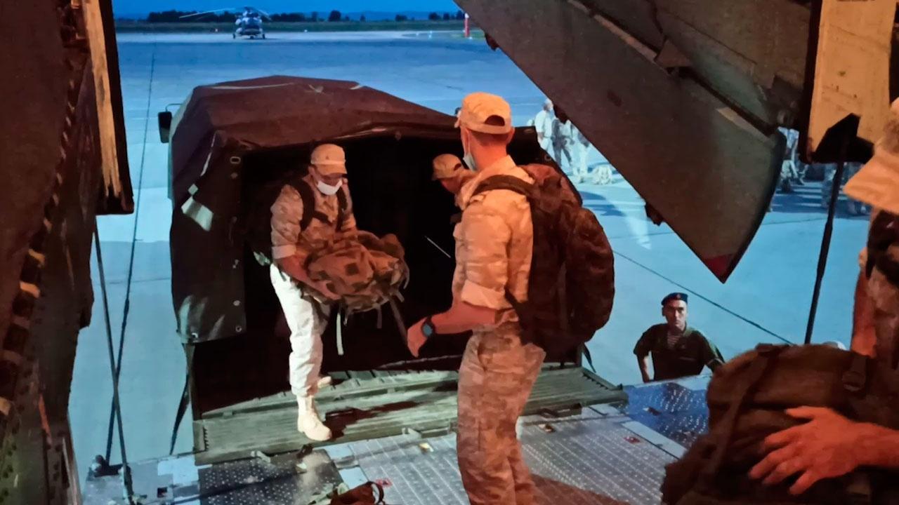 Военнослужащие ЦВО приступили к передислокации на полигон Термез в Узбекистане
